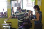 Dental work in the school Timor L'este