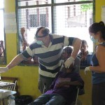 Dental work in the school Timor L'este