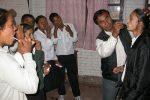 Bishnu and students