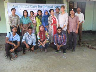 Team at Surovi school, Mirpur, Dhaka