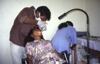 Joao in Bairo Pite clinic 2000