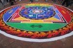 Chalk Mandala, Newari New Year, Kathmandu