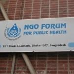 NGOF for Public Health Dhaka