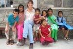 TT and kids Pokhara Nepal