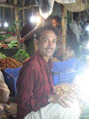 Night market stallholder