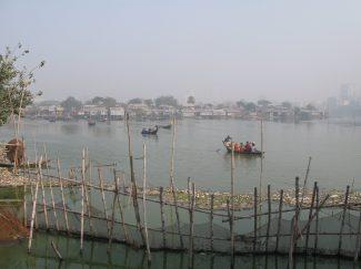 Water tranport to slum Dhaka