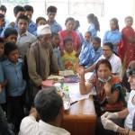 Dental screening Nepal