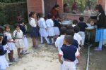 Bhattedande school brushing lineup