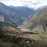 Nepal valley view Rasuwa district