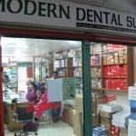 Buying dental supplies from Mr Salim