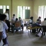 Screening room at Baniajuri