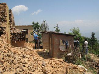 Bhattedanda top of the village