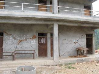 Cracks new school Jalapdevi