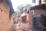 Bhattedanda homes damaged