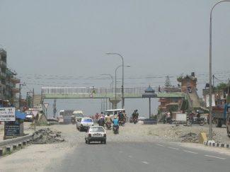 Araniko highway near Kathmandu