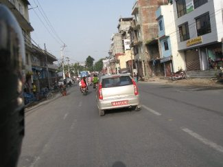 Ktm empty with little traffic