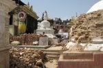 Swoyambunath rubble