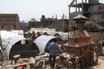 Temporary shelters Bhaktapur
