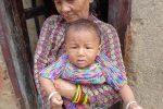 Grandma and grandson, Bhattedanda