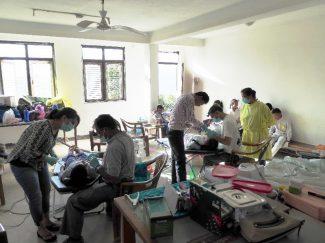 Dental treatment room, Bhattedanda