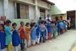 ARBAN School, Block - A queue