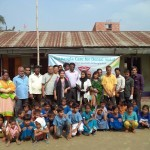 ARBAN School, Block - A team and kids